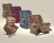 Powr Lift Chaise Recliner - Black Pearl Product Image