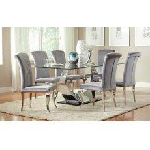 Hollywood Glam Chrome Dining Chair