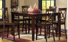 Dining Table Legs - Espresso Finish