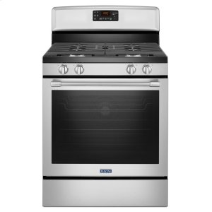 MaytagHERITAGE30-Inch Wide Gas Range with Fan Convection and Max Capacity Rack - 5.8 Cu. Ft.