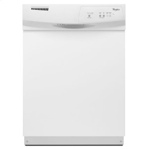 Dishwasher with Resource-Efficient Wash System - WHITE