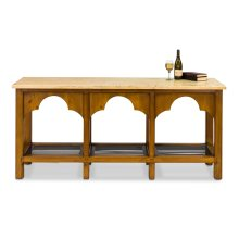 Railroad Trestle Table