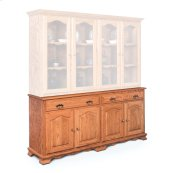 "Classic Hutch Base, Extra Large, Classic Hutch Base, 73 1/2"", 18"" Base"