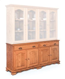 "Classic Hutch Base, Extra Large, Classic Hutch Base, Extra Large, 18"" Base"