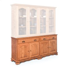 "Classic Hutch Base, Extra Large, Classic Hutch Base, 73 1/2"", 22"" Base"