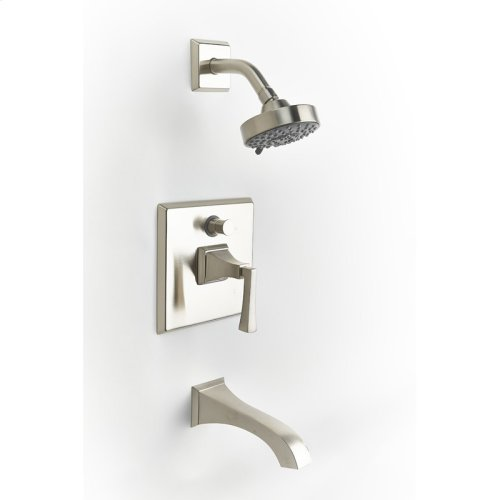 Tub and Shower Trim Leyden Series 14 Satin Nickel