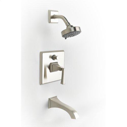 Tub and Shower Trim Leyden Series 14 Satin Nickel