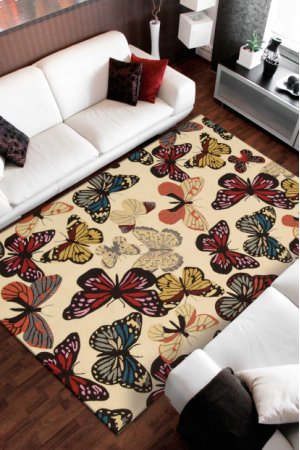 Fantasy Fa20 Bge Rectangle Rug 3'6'' X 5'6''
