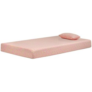 AshleyASHLEY SIERRA SLEEPIkidz Pink Twin Mattress and Pillow