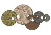 Five Metal Interlocking Circles Product Image