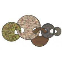 Five Metal Interlocking Circles