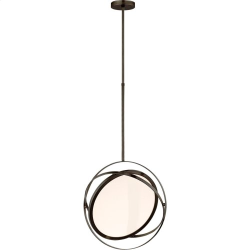 Visual Comfort PB5115BZ Peter Bristol Orbit LED 19 inch Bronze Pendant Ceiling Light