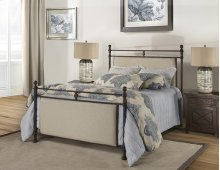 Ashley Bed - King - Metal Bed Rail Included