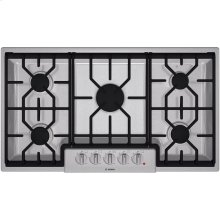 "36"" Gas Cooktop 800 Series - Stainless Steel"