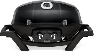 TravelQ PRO285 Portable Gas Grill , Black , Propane