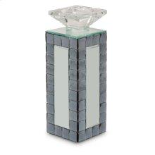 Mirrored Candle Holder Medium (6/pack)