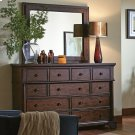 Mirror w/Leather Trim Product Image