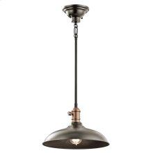 Cobson Collection 1 Light Pendant / Semi-Flush  Olde Bronze