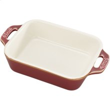 "Staub Ceramics 5.5x4"" Rectangular Baking Dish, Rustic Red"