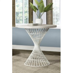 Hillsdale FurnitureKanister Round Counter Height Dining Table - White
