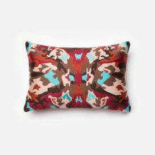 Red / Multi Pillow