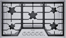 36-Inch Masterpiece® Star® Burner Gas Cooktop, ExtraLow® Select SGSX365TS