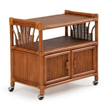 Rattan Cart or TV Stand 446