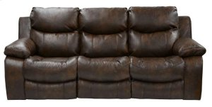 Power Reclining Sofa - Timber