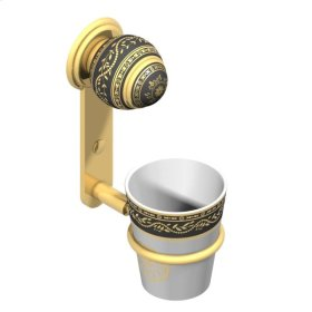 Wall Mounted Holder and Porcelain Tumbler