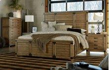 Metalworks Panel Bed, Queen 5/0