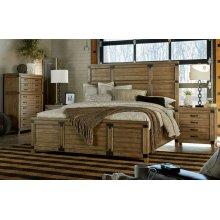 Metalworks Panel Bed, King 6/6