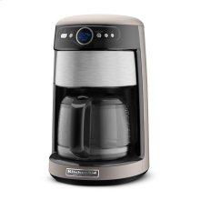 KitchenAid® 14 Cup Glass Carafe Coffee Maker - Cocoa Silver