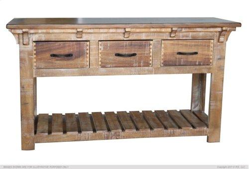 Sofa Table w/3 Drawer