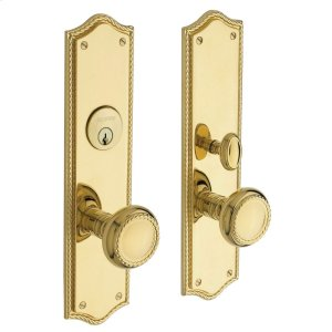 Lifetime Polished Brass Barclay Entrance Trim Product Image