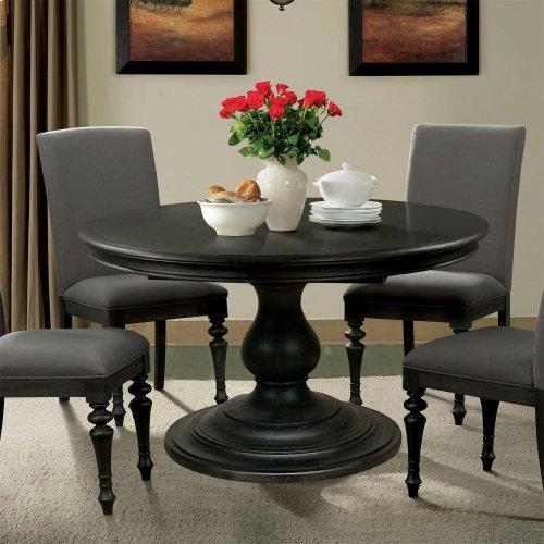 Corinne - Table Base - Ebonized Acacia Finish