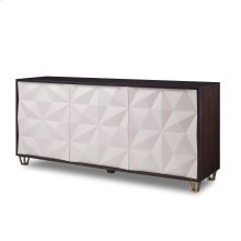 Faceted Multi-Use Cabinet
