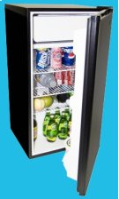 3.9 Cu. Ft. Refrigerator/Freezer Product Image