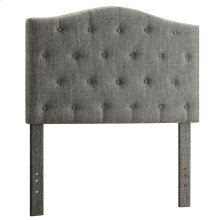 "Grace 39"" Headboard in Grey"