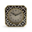 Black and White Pattern Clock Product Image
