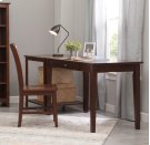 """48"""" Writing Table Espresso Product Image"""