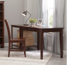 "48"" Writing Table Espresso"