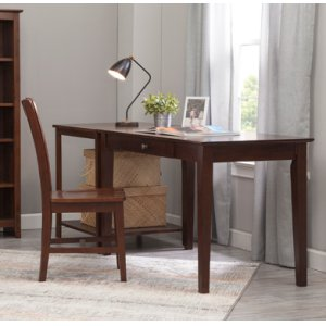 "JOHN THOMAS FURNITURE48"" Writing Table Espresso"