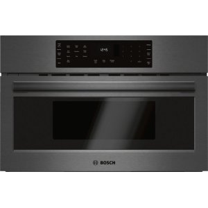 "Bosch800 Series 30"" Speed Oven, HMC80242UC, Black Stainless Steel"