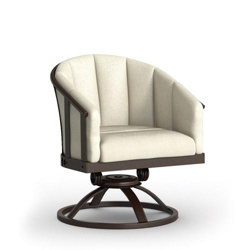 Swivel Rocker Barrel Chair   Cushion