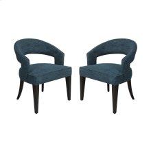 Cavendish Chair - Peacock Chenile