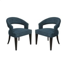 Cavendish Chair - Peacock Chenile