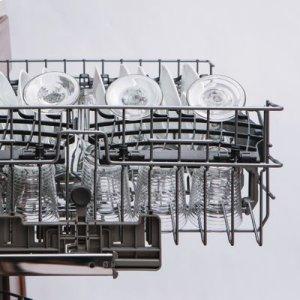 "24"" Dishwasher w/Installed Viking Stainless Steel Panel"