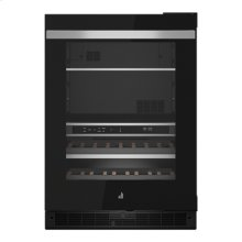 "NOIR 24"" Built-In Undercounter Beverage Center - Right Swing"