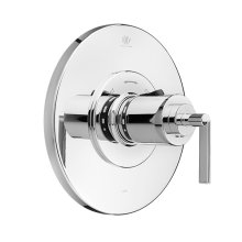 Percy 3/4 Inch or 1/2 Inch Thermostatic Valve Trim with Lever Handle - Polished Chrome