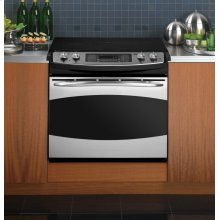 "GE Profile Series 30"" Drop-In Electric Range"